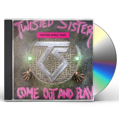 Twisted Sister COME OUT & PLAY CD