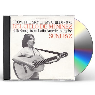 Suni Paz FROM THE SKY OF MY CHILDHOOD CD