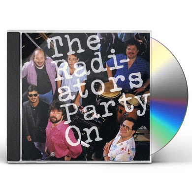 Radiators PARTY ON CD
