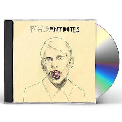 Foals ANTIDOTES CD