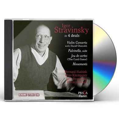 IGOR STRAVINSKY IN 4 DEALS CD