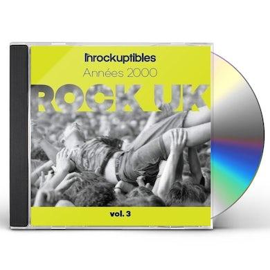 LES INROCKS ANTHOLOGIE DU ROCK ANGLAIS VOL 3 / VAR CD