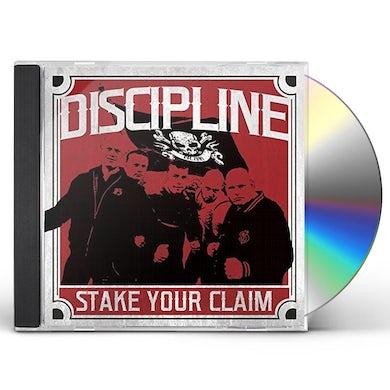 Discipline STAKE YOUR CLAIM CD