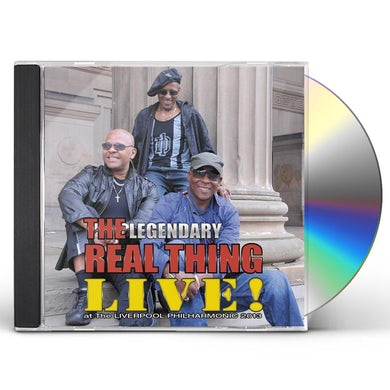 Real Thing LIVE AT THE LIVERPOOL PHILHARMONIC 2 CD
