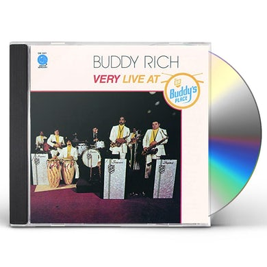 Buddy Rich VERY LIVE AT BUDDY'S PLACE CD