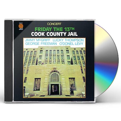 Jimmy Mcgriff FRIDAY THE 13TH COOK COUNTY JAIL CD