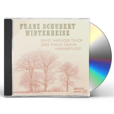 Ernst Haefliger SCHUBERT: WINTERREISE CD