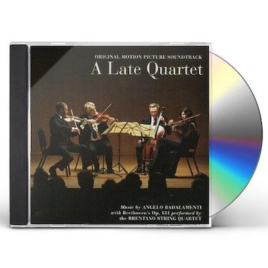 Angelo Badalamenti LATE QUARTET BEETHOVEN STRING QUARTET 14 CD