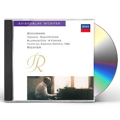 Sviatoslav Richter SCHUMANN: PIANO WORKS CD