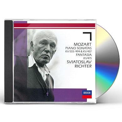 Sviatoslav Richter MOZART: PIANO SONATAS NOS. 18 & 14. CD
