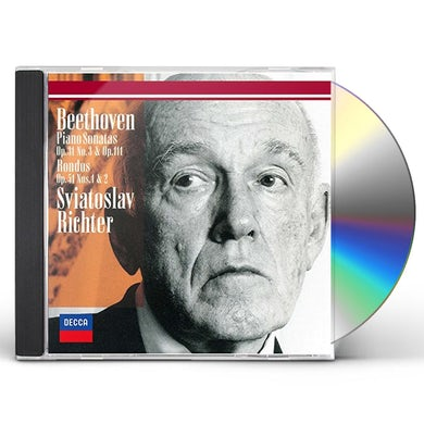 Sviatoslav Richter BEETHOVEN: PIANO SONATAS NOS. 18 & 28 CD