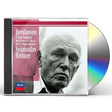 Sviatoslav Richter BEETHOVEN: PIANO SONATAS NOS. 19. 20. CD