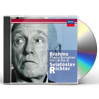 Sviatoslav Richter BRAHMS: PIANO SONATAS NOS. 1 & 2 CD