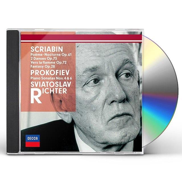 Sviatoslav Richter PROKOFIEV: PIANO SONATAS NOS. 4 & 6. CD