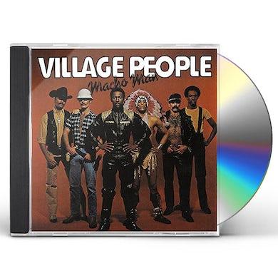 Village People MACHO MAN (DISCO FEVER) CD