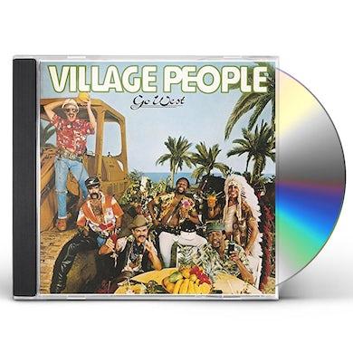Village People GO WEST (DISCO FEVER) CD