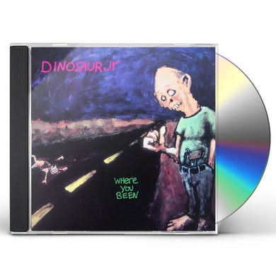 Dinosaur Jr. WHERE YOU BEEN CD