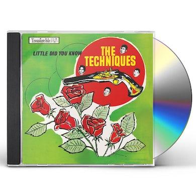 Techniques LITTLE DID YOU KNOW: ORIGINAL ALBUM (BONUS TRACKS) CD