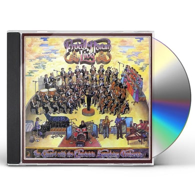 Procol Harum LIVE: IN CONCERT WITH EDMONTON SYMPHONY ORCHESTRA CD