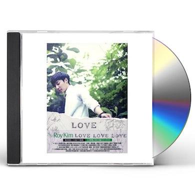 Roy Kim LOVE LOVE LOVE CD