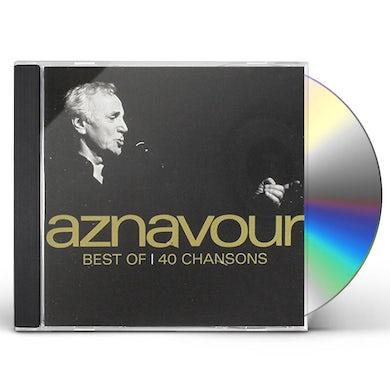 Charles Aznavour BEST OF-40 SONGS CD