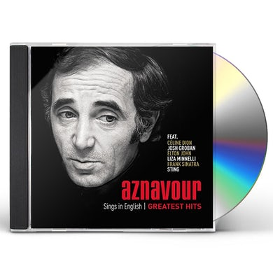 Charles Aznavour SINGS IN ENGLISH: GREATEST HITS CD