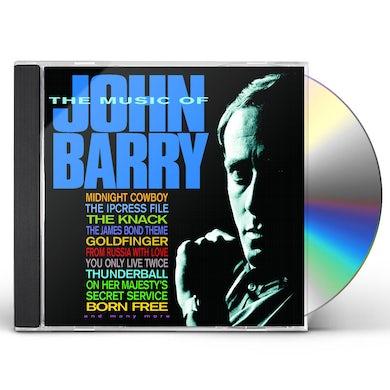 MUSIC OF JOHN BARRY CD