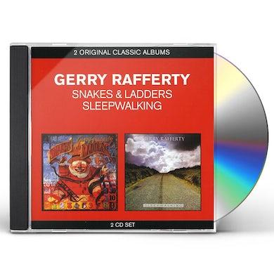 Gerry Rafferty CLASSIC ALBUMS: SNAKES & LADDERS/SLEEPWALKING CD