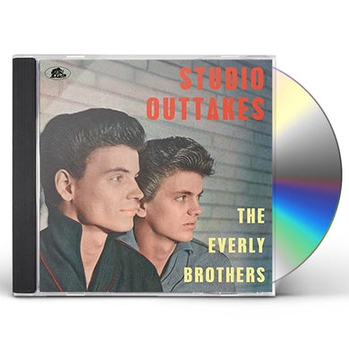 The Everly Brothers STUDIO OUTTAKES CD