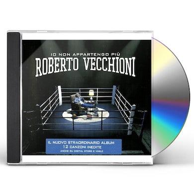 Roberto Vecchioni IO NON APPARTENGO PIU' CD