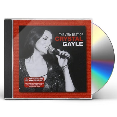 Crystal Gayle VERY BEST OF CYRSTAL GAYLE CD