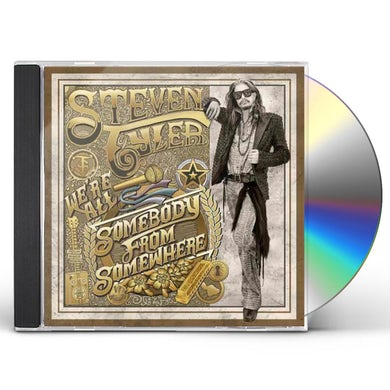 Steven Tyler WE'RE ALL SOMEBODY FROM SOMEWHERE CD