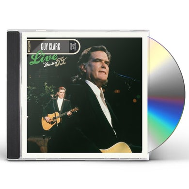 Guy Clark LIVE FROM AUSTIN TX CD