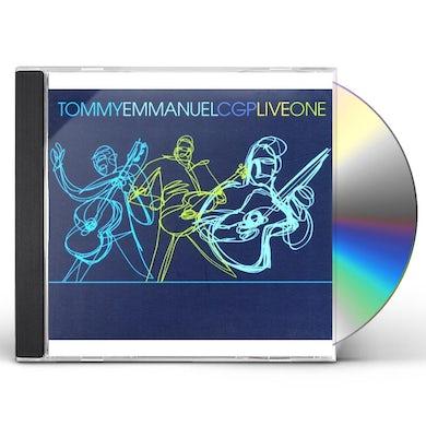 Tommy Emmanuel LIVEONE CD