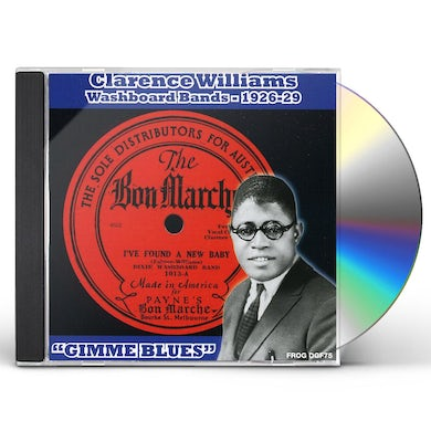 Clarence Williams WASHBOARD BANDS 1926-1929 GIMME BLUES CD