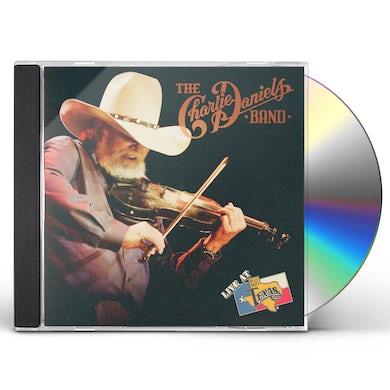 Charlie Daniels LIVE AT BILLY BOB'S TEXAS CD
