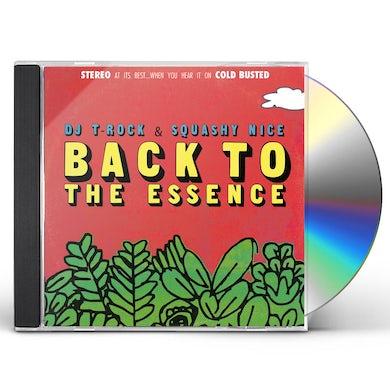 DJ T-Rock BACK TO THE ESSENCE CD