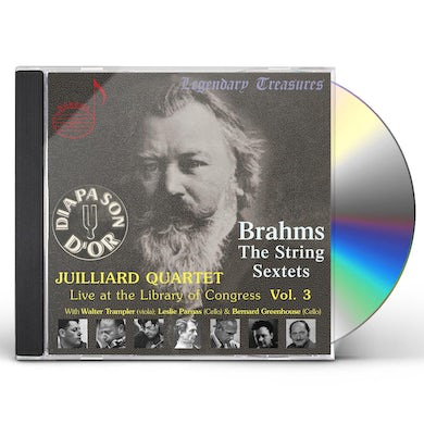 Juilliard String Quartet LIVE AT THE LIBRARY OF CONGRESS 3 CD