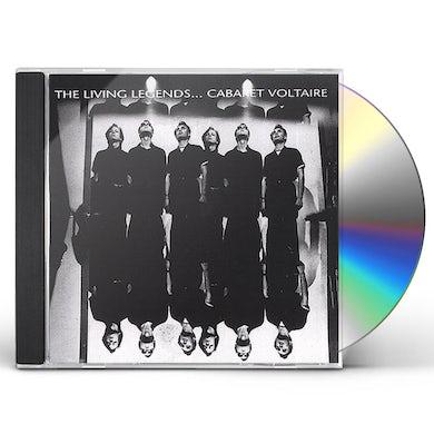 Cabaret Voltaire LIVING LEGENDS CD