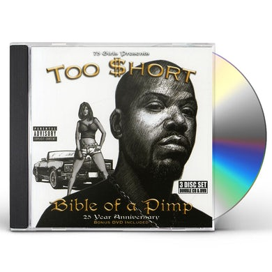 Too $hort BIBLE OF A PIMP CD