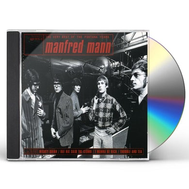 Manfred Mann VERY BEST OF THE FONTANA YEARS CD