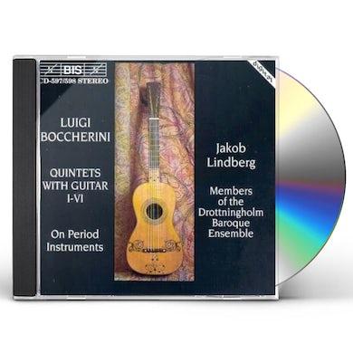 Boccherini GUITAR QNTS-LINDBERG CD