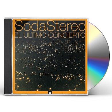 Soda Stereo ULTIMO CONCIERTO 1 CD