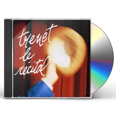 Charles Trenet RECITAL CD