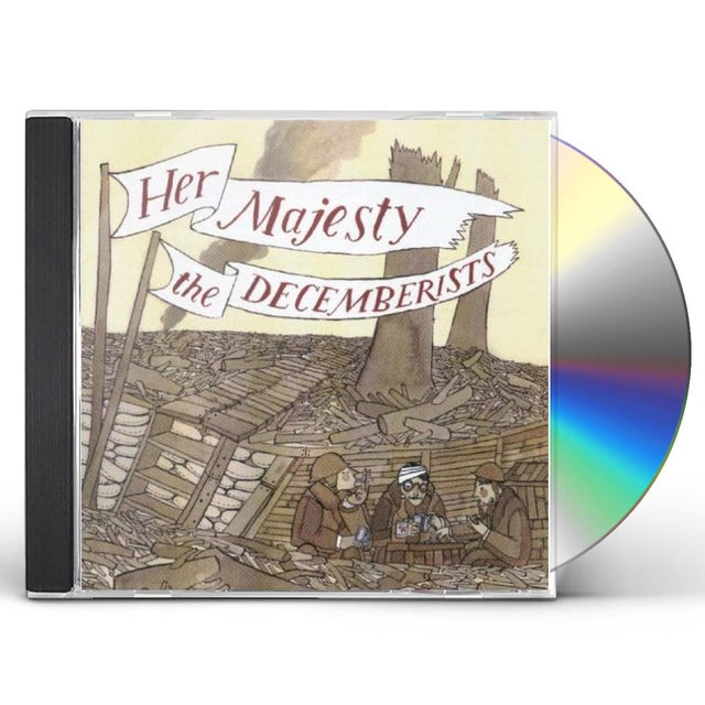 HER MAJESTY THE DECEMBERISTS CD