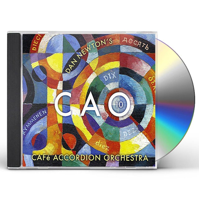 Cafe Accordion Orchestra CAO 10 CD