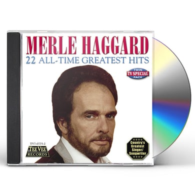 Merle Haggard 22 ALL TIME GREATEST HITS CD