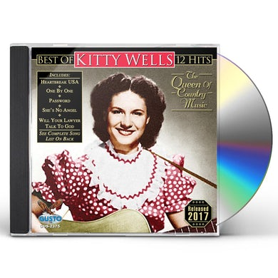 Kitty Wells BEST OF - 12 HITS CD