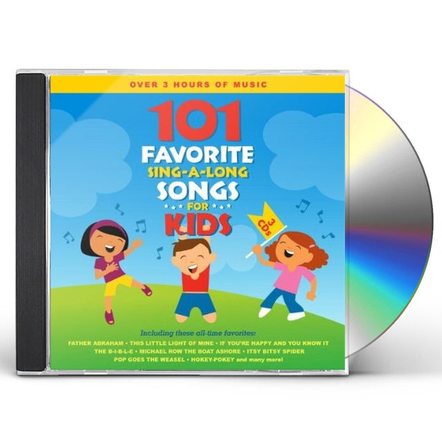 Songtime Kids 101 FAVORITE SING-A-LONG SONGS FOR KIDS CD