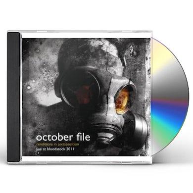 October File RENDITIONS IN JUXTAPOSITION: LIVE AT BLOODSTOCK CD